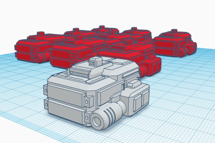 6mm hover tanks